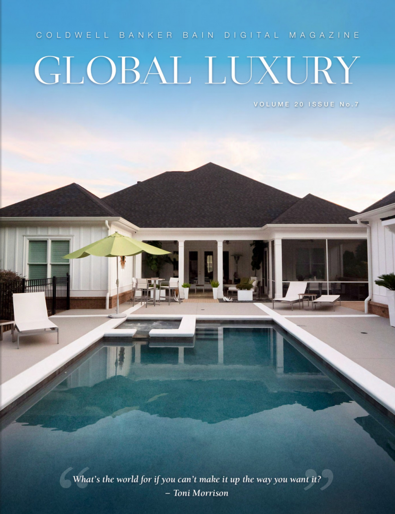 Coldwell Banker Global Luxury Magazine Vol 20 Issue 7 cover